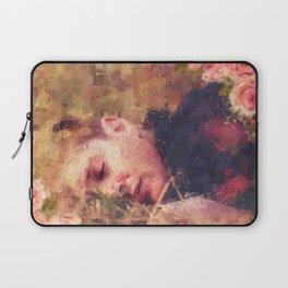 Flowerbed Laptop Sleeve