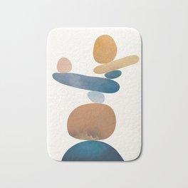 Balancing Stones 28 Bath Mat
