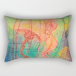 Jellyfish Bliss Rectangular Pillow
