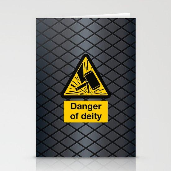 Danger of Deity Stationery Cards