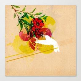 humming Canvas Print