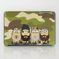 minions iPad Cases featuring Minions Mashup Duck Dinasty by Akyanyme