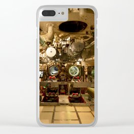 The USS Batfish SS-310 - Below Deck in the Forward Torpedo Room, #2 Clear iPhone Case