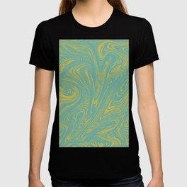 Pastel Marbled Paint T-shirt