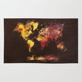 world map 63 Rug
