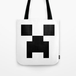 Creeper Face Tote Bag