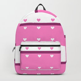 Hearts In A Row Backpack