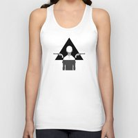 triangle Tank Tops featuring triangle by r1ie