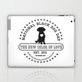 Black Dog Day Official Logo Laptop & iPad Skin