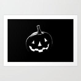 Carvey the Pumpkin Art Print