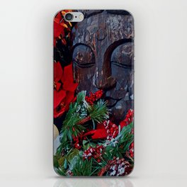 Christmas zen iPhone Skin
