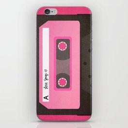 Mixtape iPhone Skin