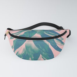 Blush Pineapple Upside Down #1 #tropical #fruit #decor #art #society6 Fanny Pack