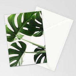 CloseUp Monstera Stationery Cards