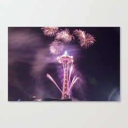 2016 New Years Day I Canvas Print