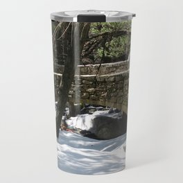 Bridalveil Fall Stone Bridge Travel Mug