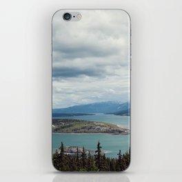 Bove Island Tagish Lake iPhone Skin