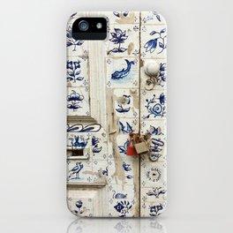 Madeira Doors 1 iPhone Case