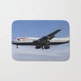British Airways Boeing 747 Bath Mat
