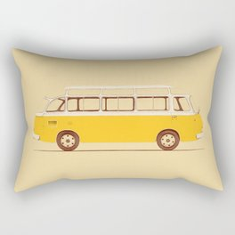 Yellow Van II Rectangular Pillow