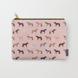 horses farm animal pet gifts Carry-All Pouch
