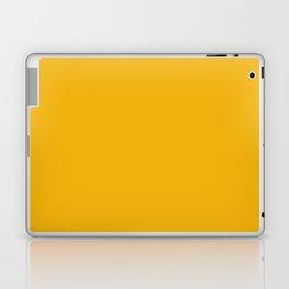 Vintage New England Shaker Village Dark Marigold Yellow Milk Paint Laptop & iPad Skin