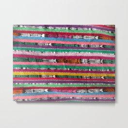 Guatemalan fabric Metal Print