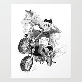 Rank XX Art Print