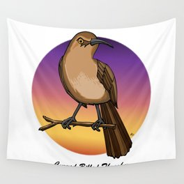 CURVE-BILLED THRASHER Wall Tapestry