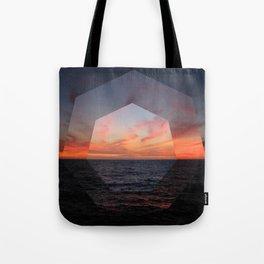 A Sunny Setting Tote Bag