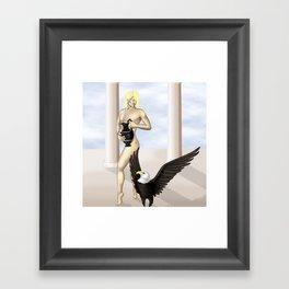 Ganymede Framed Art Print