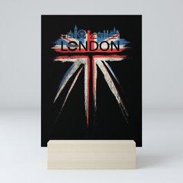 London Pride_Black Mini Art Print