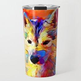 Husky 4 Travel Mug