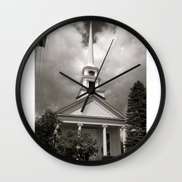 Here is the Church, Here is the Steeple Wall Clock