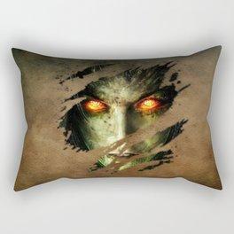 Evil Rectangular Pillow