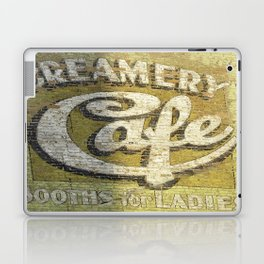 Butte Montana - Creamery Cafe For Ladies Laptop & iPad Skin