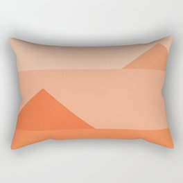 Abstraction_Triangles_001 Rectangular Pillow