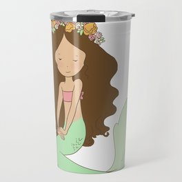 Mermaid Island Princess Travel Mug