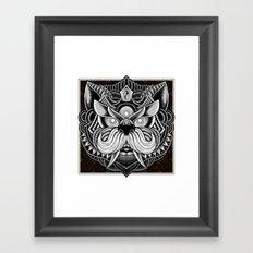 Javanese Ornate Dog Framed Art Print