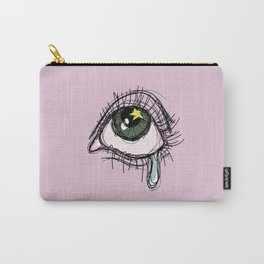 Eye cry print Carry-All Pouch