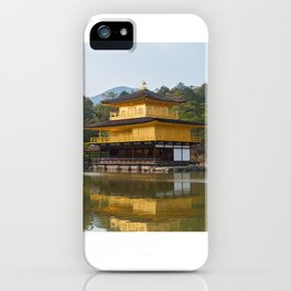 Temple of the Golden Pavilion iPhone Case