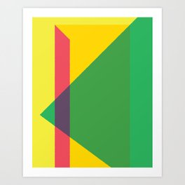 Cacho Shapes LXXXIV Art Print