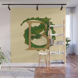 Dragon Letter B 2019 Wall Mural