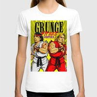 foo fighters T-shirts featuring Grunge Street Fighters by Butcher Billy