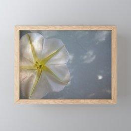 Moon Flower Framed Mini Art Print