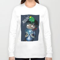 merlin Long Sleeve T-shirts featuring Merlin!!! by Fla'Fla'