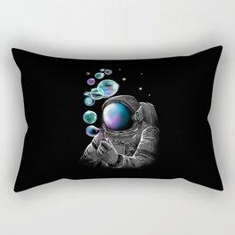 Astronauts and Bubble World Rectangular Pillow