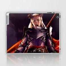 Dragon Age Inquisition - Eva the Qunari warrior Laptop & iPad Skin