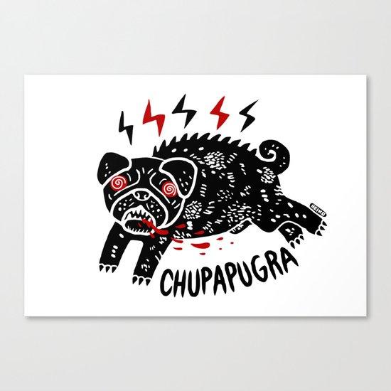 Chupapugra Canvas Print