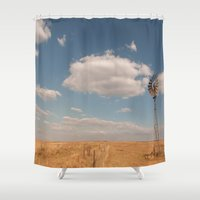 country Shower Curtains featuring Country by Lorryn Smit